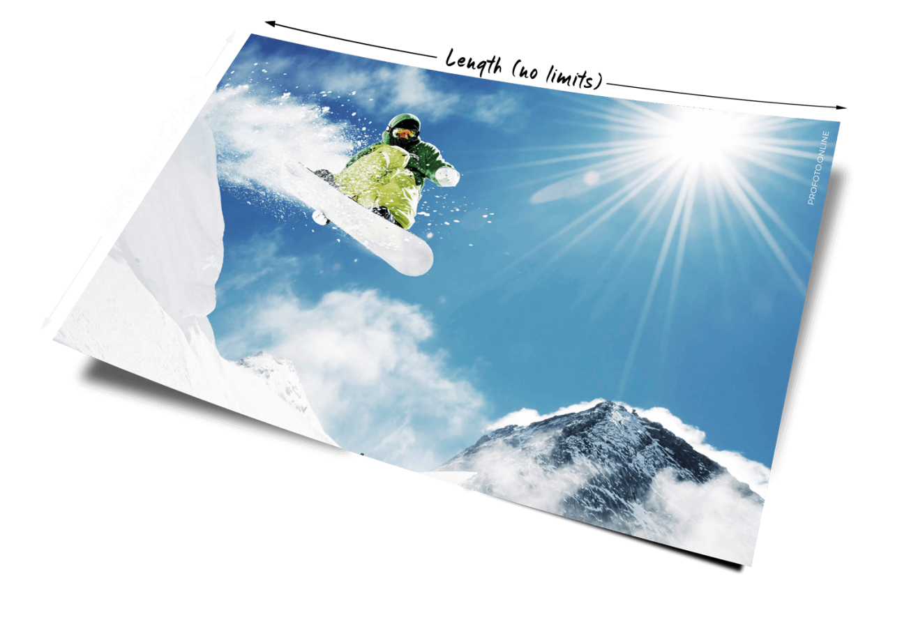 Premium print service on a real photo paper at profoto.online